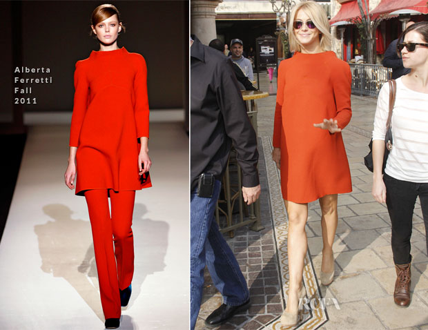 Julianne Hough In Alberta Ferretti - Extra