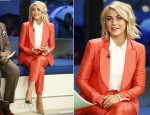 Julianne Hough In Diane von Furstenberg - The Today Show