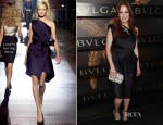 Julianne Moore In Lanvin - Bulgari Celebrates Icons Of Style: The Serpenti