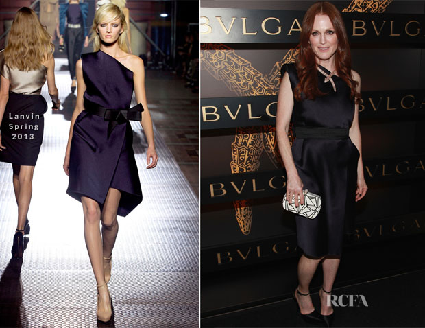 Julianne Moore In Lanvin - Bulgari Celebrates Icons Of Style The Serpenti