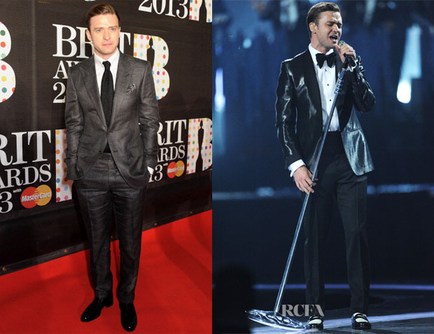 Justin Timberlake In Tom Ford Brit Awards