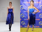Karolina Kurkova In Dimitri -  'The Face' Series Premiere
