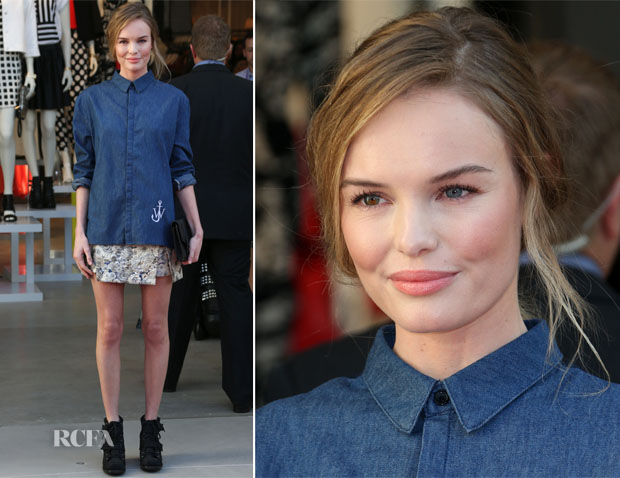 Kate Bosworth In JW Anderson For Topshop - Topshop LA Grand Opening