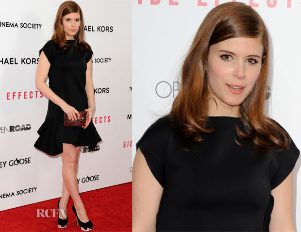 Kate Mara In Givenchy - 'Side Effects' New York Premiere