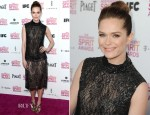 Katie Aselton In Wes Gordon - 2013 Independent Spirit Awards