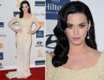 Katy Perry In Rafael Cennamo - Pre-Grammy Gala Honoring L.A. Reid