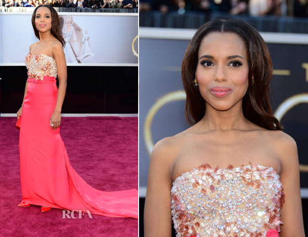 Kerry Washington In Miu Miu - 2013 Oscars