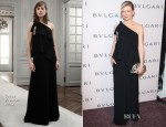 Kirsten Dunst In Chloé - BVLGARI Celebration of Elizabeth Taylor's collection of BVLGARI Jewelry