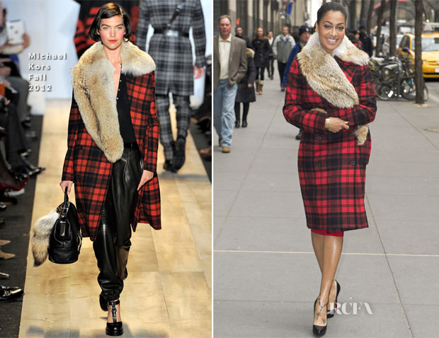 La La Anthony In Michael Kors  - NY Live
