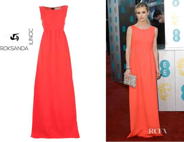 Laura Bailey's Roksanda Illinic 'Sawter' Maxi Dress
