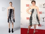 Lena Dunham In Reed Krakoff - 65th Annual Writers' Guild East Coast Awards