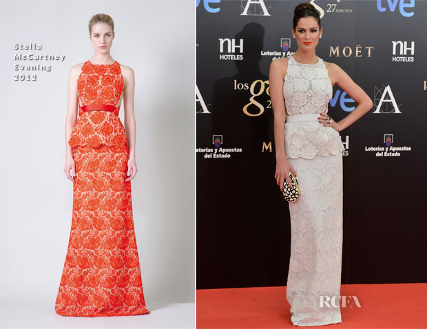 Mar Saura In Stella McCartney - 2013 Goya Cinema Awards