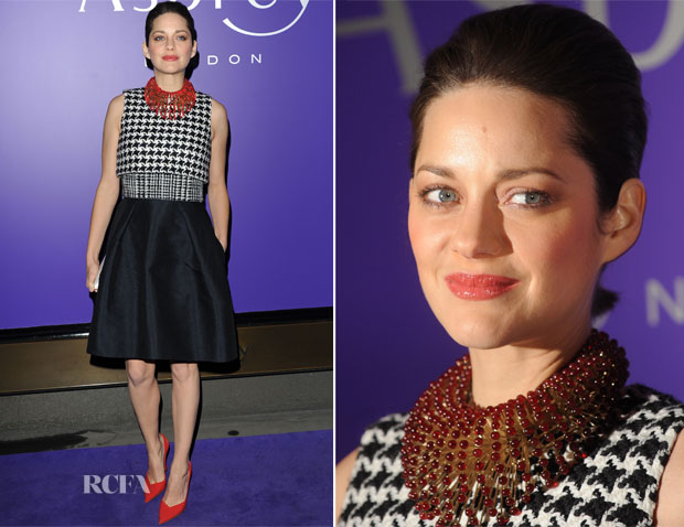 Marion Cotillard In Christian Dior - BAFTA Nominees Party