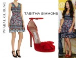Megan Fox's Prabal Gurung Sheath Dress And Tabitha Simmons 'Ruby' Pumps