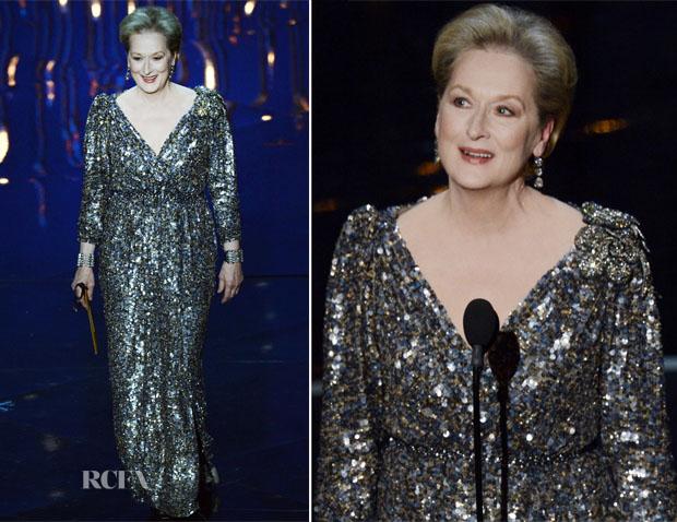 Meryl Streep In Lanvin - 2013 Oscars