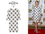 Michelle Williams' Giulietta Printed Silk Crepe Dress