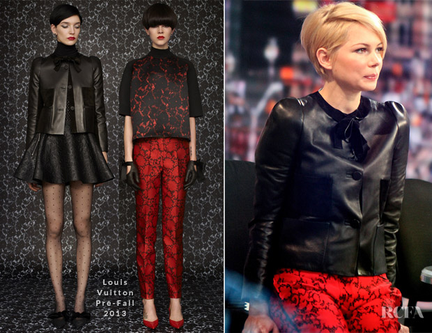 Michelle Williams In Louis Vuitton - 'Good Morning America'