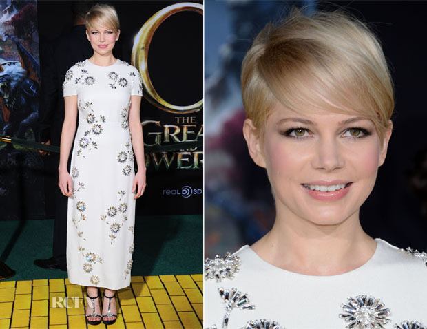 Michelle Williams In Prada - 'Oz The Great and Powerful' LA Premiere