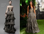 Mila Kunis In Alexander McQueen - 'Oz: The Great And Powerful' London Premiere