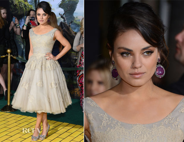 Mila Kunis In Dolce & Gabbana - 'Oz The Great and Powerful' LA Premiere