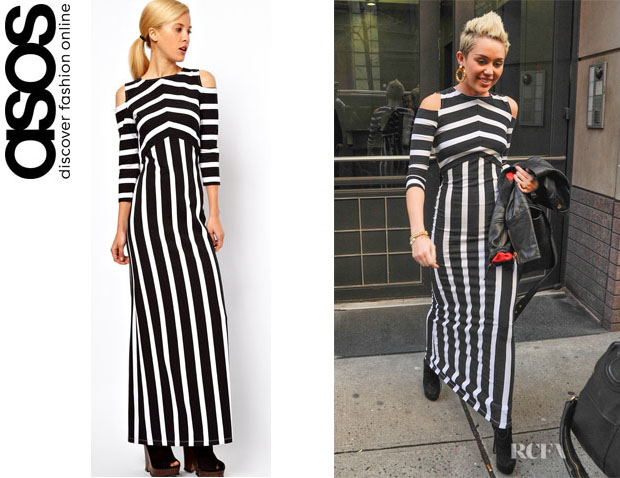 Miley Cyrus' ASOS Maxi Dress1