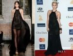Miley Cyrus In Emilio Pucci -  Pre-Grammy Gala Honoring L.A. Reid