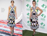 Miranda Kerr In Peter Pilotto - Global Green USA's 10th Annual Pre-Oscar Party