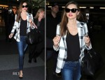Miranda Kerr In Stella McCartney - JFK