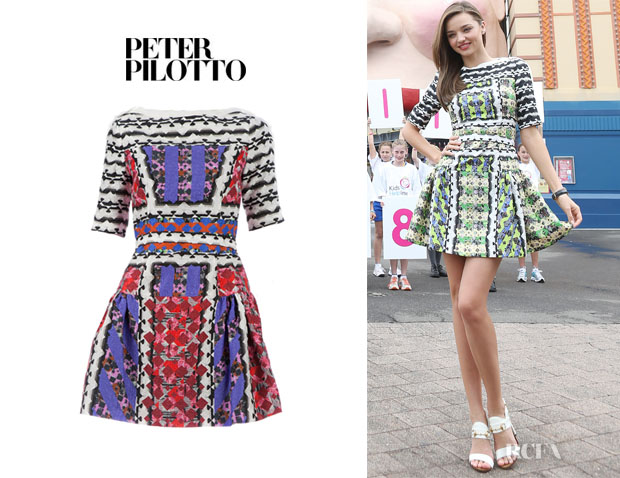 Miranda Kerr's Peter Pilotto 'Natalie' Dress