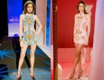 Nieves Alvarez In Fausto Puglisi & Stella McCartney - Solo Moda