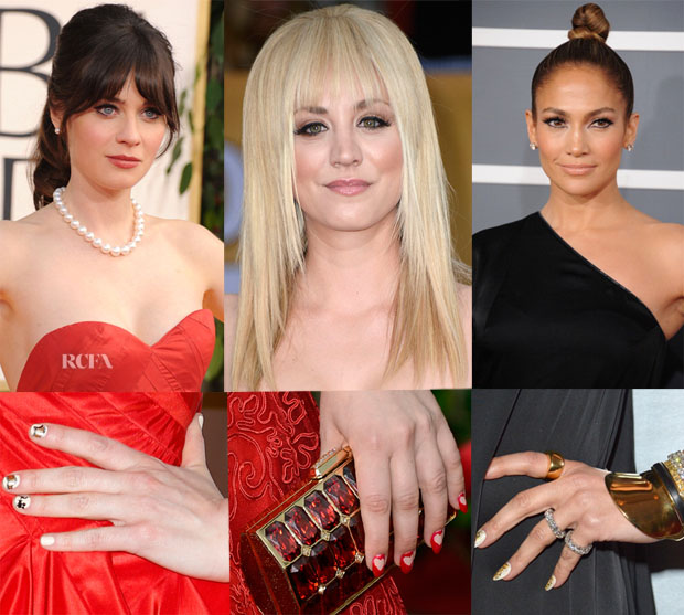 Red Carpet Trend Spotting Nail Art Red Carpet Fashion Awards