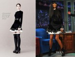 Naomi Campbell In Alexander McQueen - Late Night with Jimmy Fallon