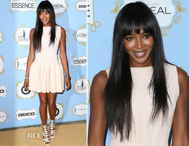 Naomi Campbell In Azzedine Alaia - 6th Annual Essence Black Women In Hollywood