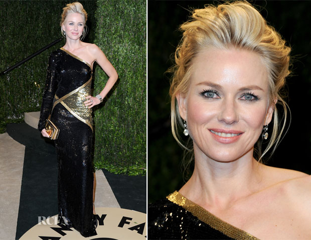 Naomi Watts In Emilio Pucci - 2013 Vanity Fair Party