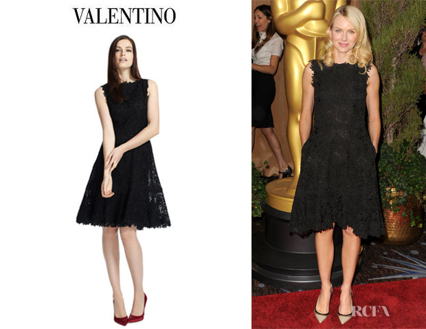 Naomi Watts' Valentino Sleeveless Dress