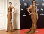 Natasha Yarovenko In Zuhair Murad - 2013 Goya Cinema Awards