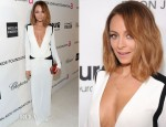 Nicole Richie In Roberto Cavalli - 2013 Elton John AIDS Foundation Oscars Party