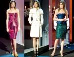 Nieves Alvarez In Burberry Prorsum & Lanvin - Solo Moda