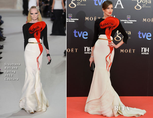 Nieves Alvarez In Stéphane Rolland Couture - 2013 Goya Cinema Awards