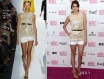 Nina Dobrev In Michael Kors - 2013 Independent Spirit Awards