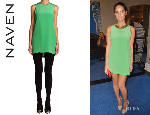 Olivia Munn's Naven 'Twiggy' Dress