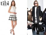 Olivia Palermo's Tibi Drop Waist Checker Dress