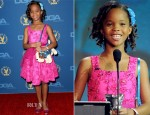 Quvenzhane Wallis In David Meister - 2013 DGA Awards