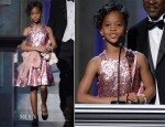 Quvenzhane Wallis In David Meister - 2013 NAACP Image Awards