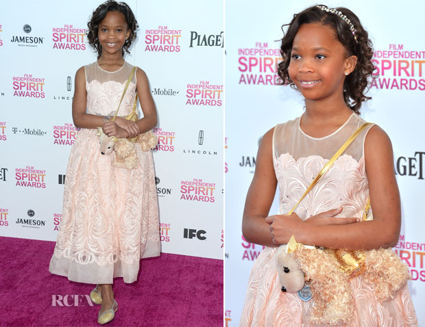Quvenzhane Wallis In Stella McCartney - 2013 Film Independent Spirit Awards