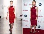 Radha Mitchell In Sophie Theallet - ABC's 'Red Widow' Red Carpet Event