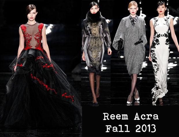 Reem Acra Fall 2013