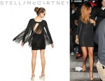 Rihanna's Stella McCartney Fringe Backed Dress
