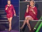 Rita Ora In Emilio Pucci - Etam Live Lingerie Show