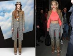 Rita Ora In Missoni - Royal Cafe